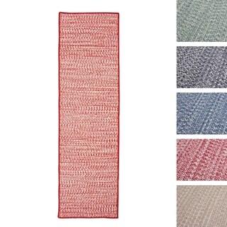 Casual Tweed Wool-blend Runner (2' x 9')