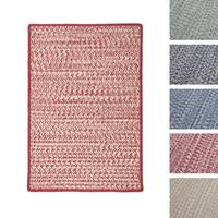 Casual Tweed Braided Reversible Rug USA MADE - 6' x 9'
