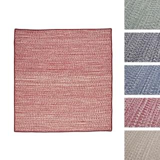Casual Tweed Wool-blend Rug