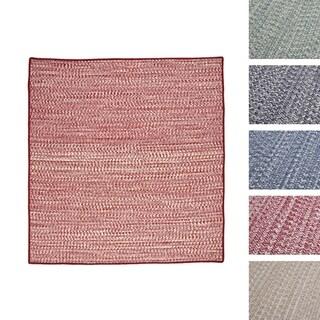 Casual Tweed Wool-blend Rug (9' x 9')