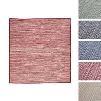 Casual Tweed Wool-blend Rug (9' x 9') - 9' x 9'