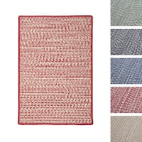 Casual Tweed Braided Reversible Rug USA MADE - 9' x 12'