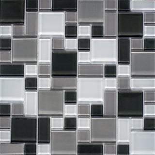 Instant Mosaic 12-inch x 12-inch Peel and Stick Glass Tile (6 sq.ft.)