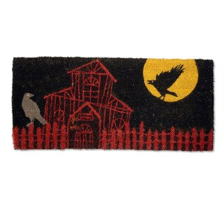 Haunted House Estate Coir Doormat