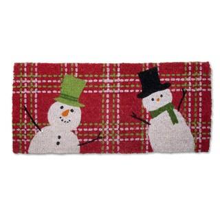 Snowman Estate Coir Doormat