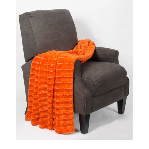 BOON Derby Double Sided Faux Fur Throw