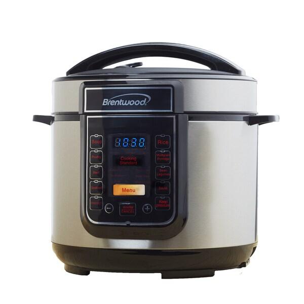 Brentwood EPC-526 5-Quart Electric Pressure Cooker