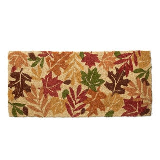 Harvest Leaves Estate Coir Doormat