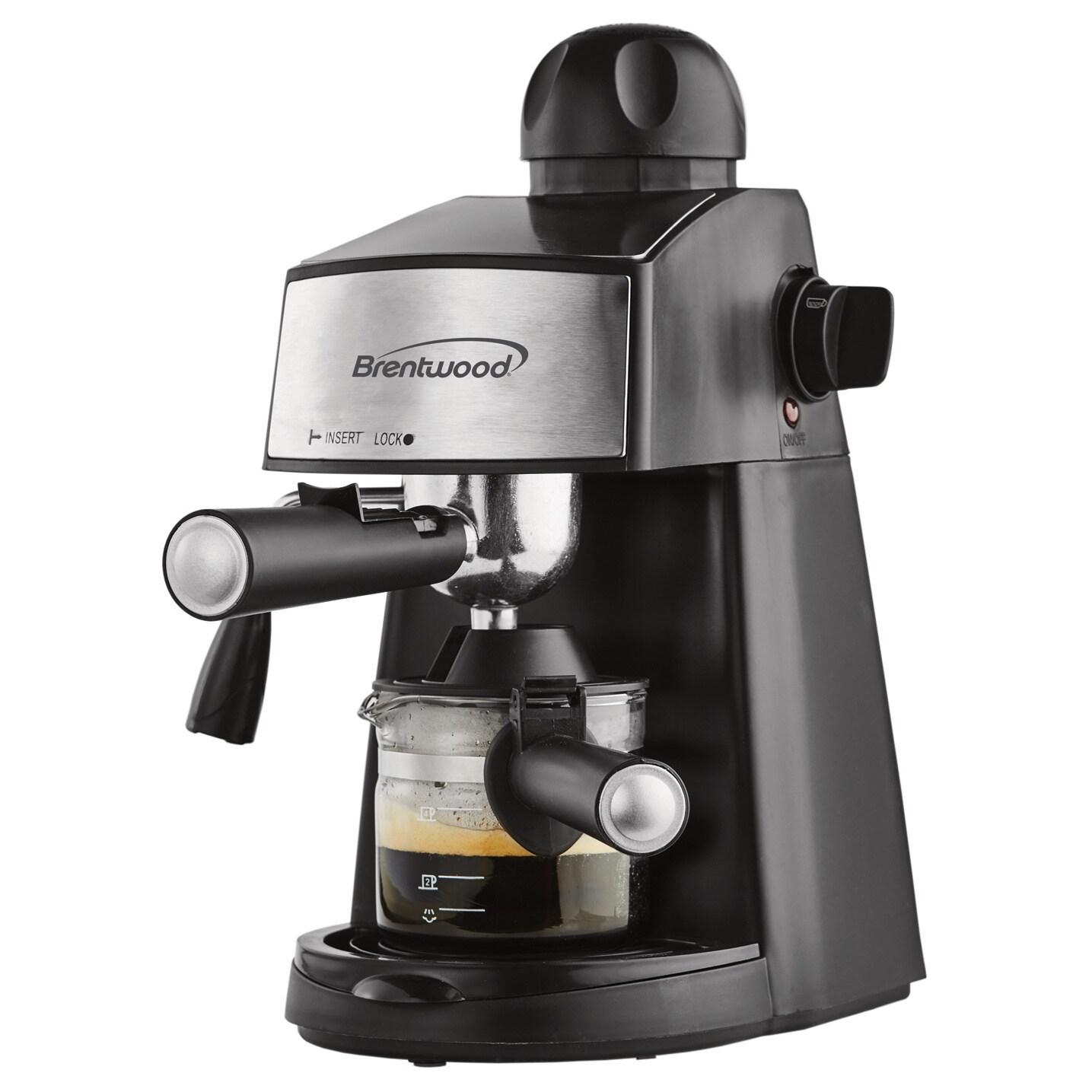 Brentwood GA-125 Espresso (Brown) Cappuccino Maker