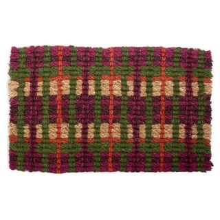 Market Plaid Coir Doormat