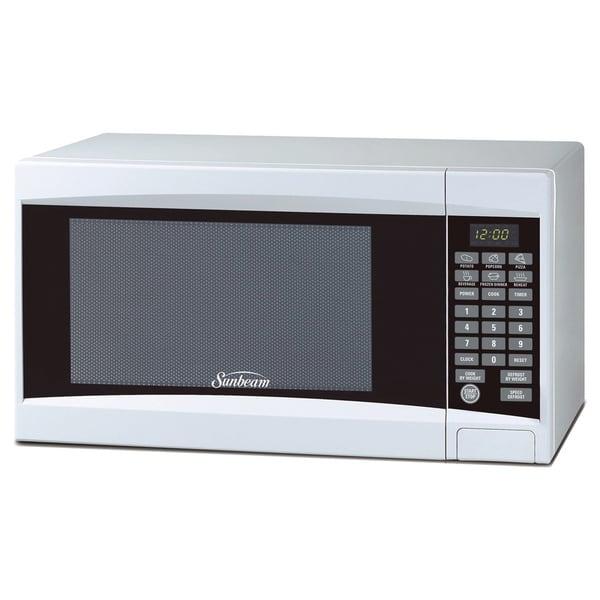Sunbeam SGD2701 White .7cu Microwave Oven