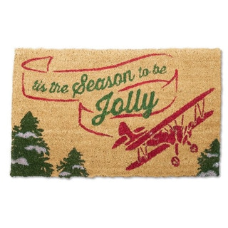 Tis The Season Coir Doormat