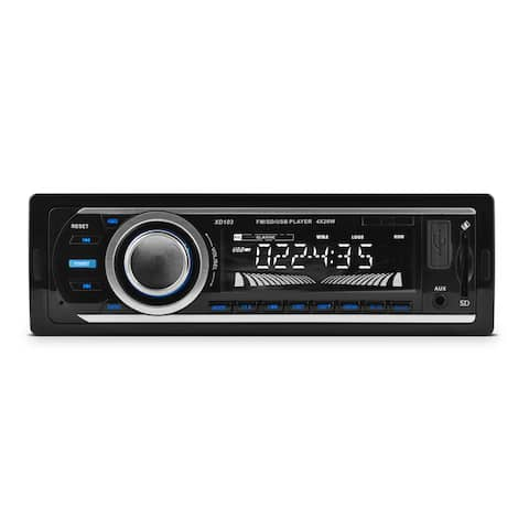 XO Vision XD103 Car Flash Audio Player - iPod/iPhone Compatible - Half DIN