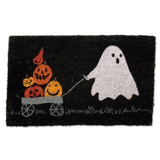 Pumpkin Parade Coir Doormat