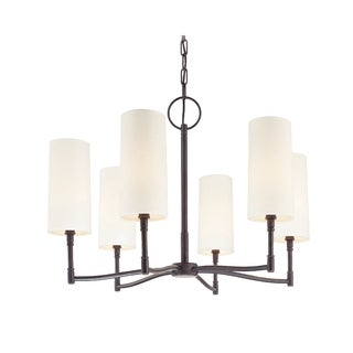 Hudson Valley Dillon 6-light Bronze Chandelier