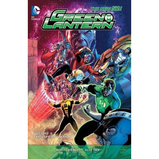 Green Lantern 6: The Life Equation (Paperback)