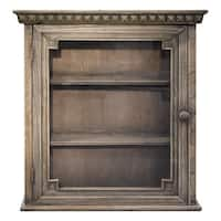 Architectural Walnut Wall Cabinet