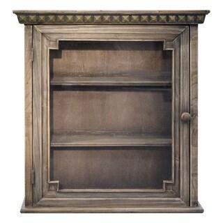 Architectural Walnut Wall Cabinet