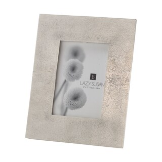 Dimond Home Aluminum Silver Cement Picture Frame