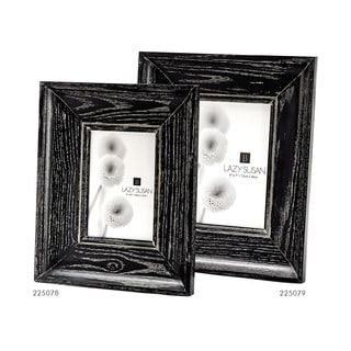 Dimond Home Oak Cerused Black Convex 5x7 Frame