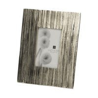 Dimond Home Aluminum Aluminum Bark Picture Frame