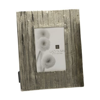 Dimond Home Aluminum Aluminum Bark Frame