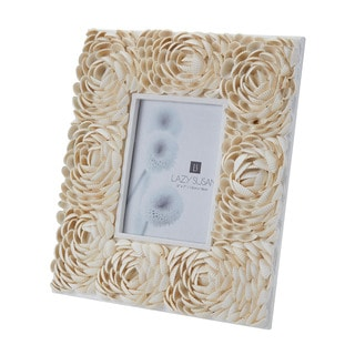 Dimond Home 5X7 Natural Shell Flower Pattern Frame