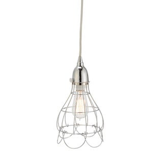 Dimond Home Silver Wire Rose Pendant Light