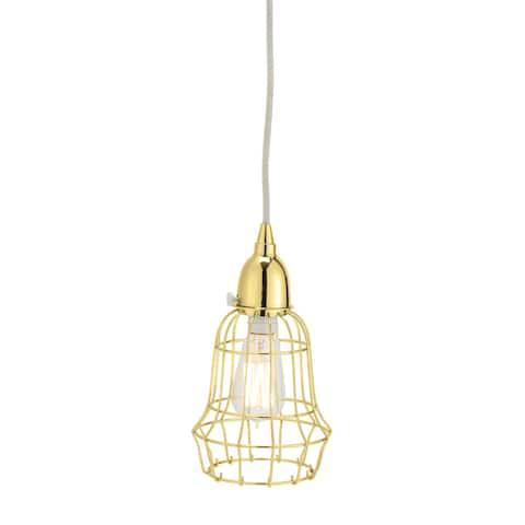 Dimond Home Gold Wire Barrel Pendant Light