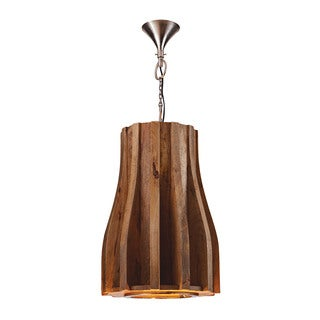 Dimond Home Wooden Retro Pendant