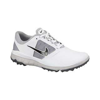 Nike Women's FI Impact White/ Grey/ Black Golf Shoes