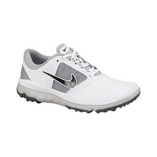 Juramento Mediana El actual  Nike Women's FI Impact White/ Grey/ Black Golf Shoes - Overstock - 10449012