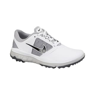 Nike Women's FI Impact White/ Grey/ Black Golf Shoes|https://ak1.ostkcdn.com/images/products/10449012/P17542272.jpg?impolicy=medium