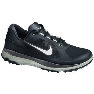 Nike Men's FI Impact Black/ Grey/ Silver Golf Shoes