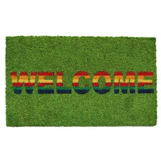 Rainbow Welcome Doormat
