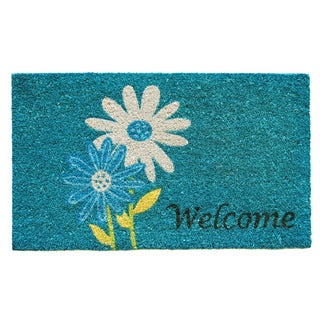 Daisy Welcome Doormat