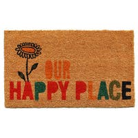 Our Happy Place Doormat (1'5 x 2'5)