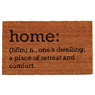 Home Definition Doormat (1'5 x 2'5)