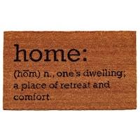 Home Definition Doormat (1'5 x 2'5)
