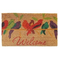 Momentum Mats Tweet Welcome Multi Coir and Vinyl Doormat