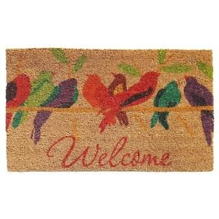 Tweet Welcome Doormat