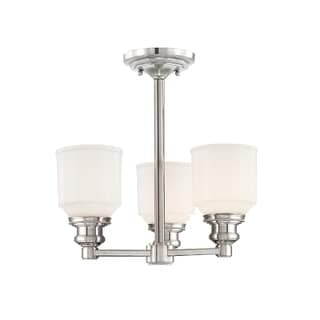 Hudson Valley Windham 3-light Polished Semi Flush