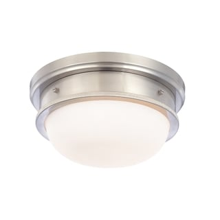 Hudson Valley Trumbull 2-light Satin Flush Mount