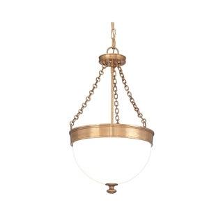 Hudson Valley Barrington 3-light Brass Pendant