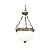 Hudson Valley Barrington 3-light Bronze Pendant