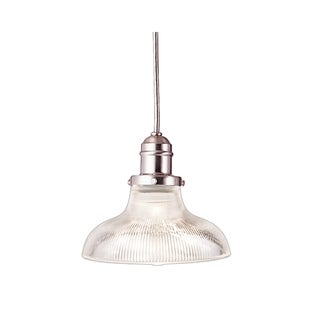 Hudson Valley Vintage R08 Shade 1-light Satin Pendant