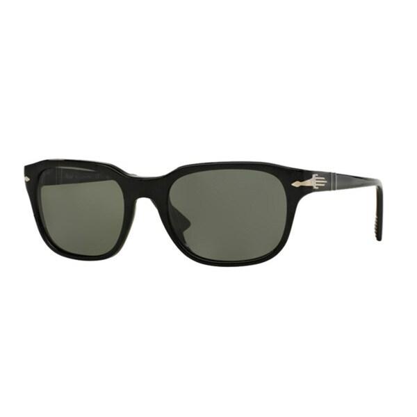 771cb43f60 Persol Men  x27 s PO3112S Plastic Square Polarized Sunglasses - Black -  Large