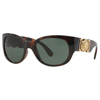 Versace Women's VE4265 Plastic Square Sunglasses