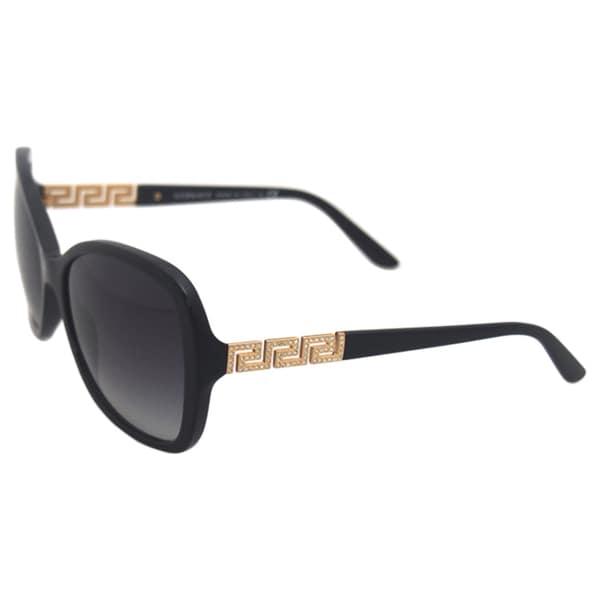 Versace Women's VE4271B Plastic Butterfly Sunglasses