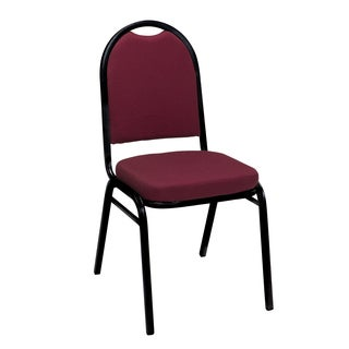Im520 Armless Stacking Chair Fabric Black Frame 2in Seat